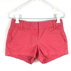J. Crew Chino shorts size 00